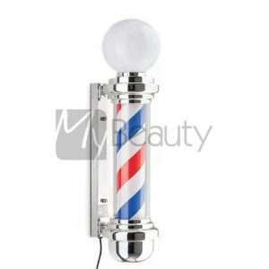 Insegna Luminosa Girevole Per Barbiere Barber Lux XANITALIA