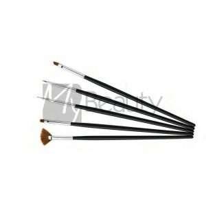 Pennelli Per Nail Art E Gel Ricostruzione Set 5Pz XANITALIA
