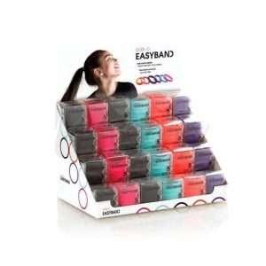 Elastici Per Capelli Easy Band In Colori Assortiti 1Pz/ Display 24Pz XANITALIA