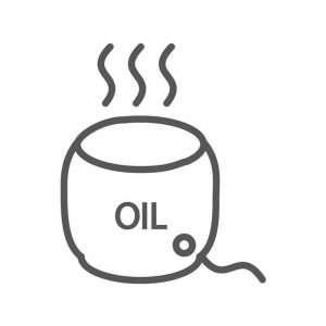 scalda olio