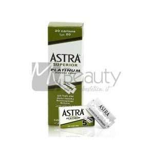 Lametta Per Rasoio Da Barba Platinum Superior Astra